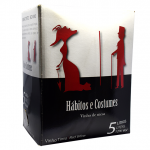 Hábitos e Costumes Bag-in-Box Tinto 5 Lt